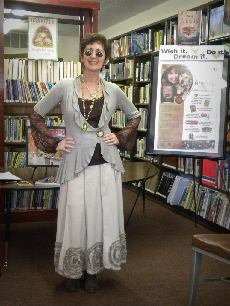 An appearance at the Library