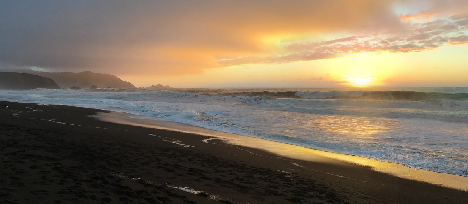 Slider – Pacifica Beach Sunset 2016